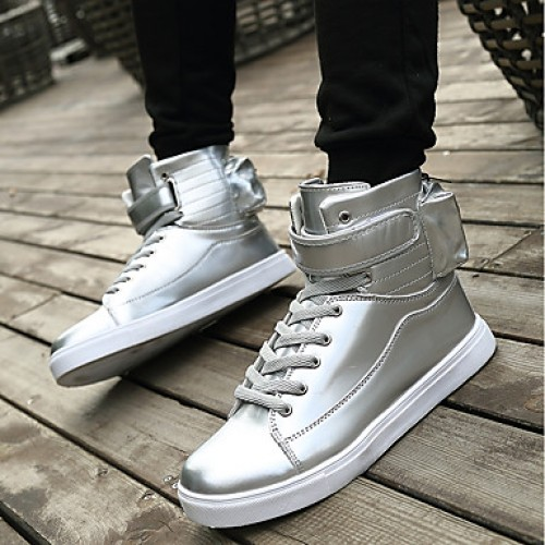 Men's Patent Leather Fall / Winter Comfort Sneakers