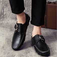 Men's Cowhide Spring / Fall Comfort Loafers