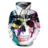 Men's Long Sleeve Loose Hoodie