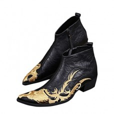 Men's Novelty Shoes Nappa Leather Fall