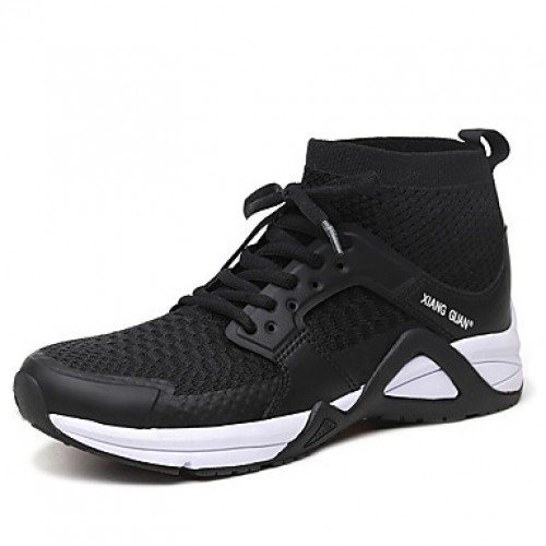 Men's Tulle Fall / Winter Comfort Athletic Shoes Booties