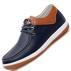 Men's Leather Shoes Leather