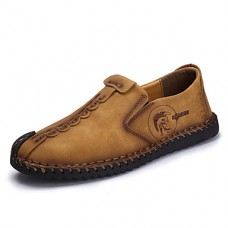 Men's Leather Shoes Cowhide Spring / Summer