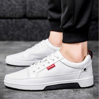 Men's PU(Polyurethane) Summer Comfort Sneakers White / Black