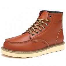 Men's Combat Boots Cowhide