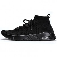 Men's Mesh Spring / Summer Comfort Sneakers Running Shoes Black