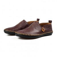 Men's Driving Shoes Leather