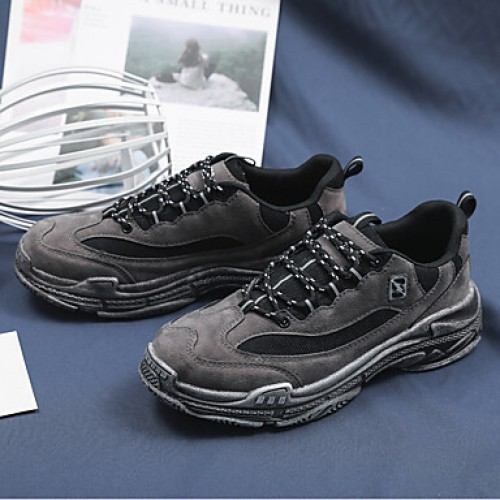 Men's Comfort Shoes Suede Spring Sporty Sneakers Breathable