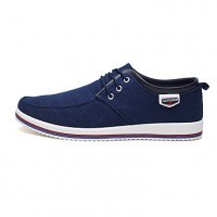 Men's Canvas / Fabric Spring / Fall Comfort Sneakers
