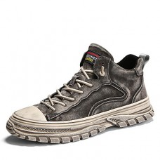 Men's Comfort Shoes Pigskin Fall & Winter Sneakers
