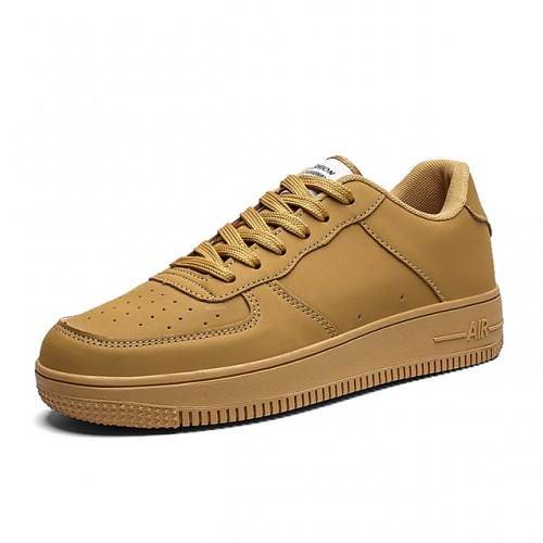 Men's Spring & Summer / Fall & Winter Sporty / Casual Daily Sneakers Walking Shoes PU Breathable